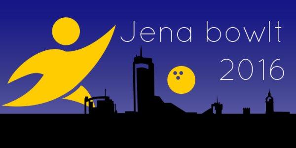 JEZT - Logo von JENA BOWLT 2016 - Abbildung © MediaPool Jena