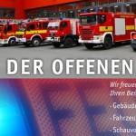 """Heute ist """"Tag der offenen Tür"""" im Gefahrenabwehrzentrum der Stadt Jena Am Anger"""