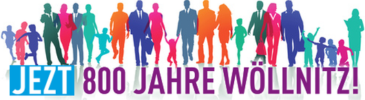 JEZT - 800 Jahre Wöllnitz - Logo