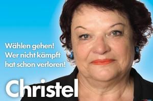 JEZT - Christel wählen gehen - Foto © AfD