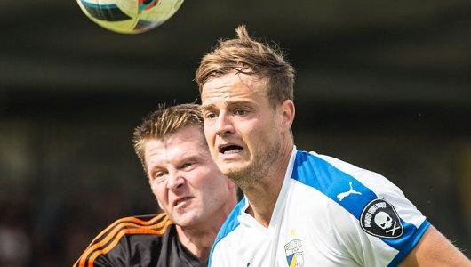 JEZT - Verzweifeltes Gesicht - Der FC Carl Zeiss Jena flog sensationell aus dem Thüringenpokal - Foto © FCC