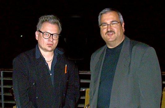 Heinz Rudolf Kunze und Rainer Sauer 2005 - Foto © MediaPool Jena