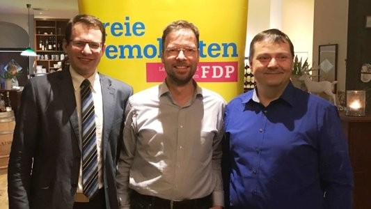 FDP Jena SHK - Patrick Frisch - Dr. Thomas Nitzsche - Holger Joseph