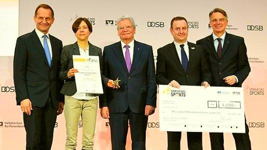 Das Projekt des USV Jena e.V. erfährt hohe Wertschätzung in Berlin. Bilrechte DOSB