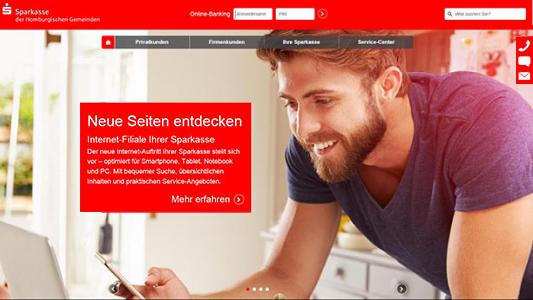 Internet-Filliale der Sparkasse - Symbolbild © Sparkasse Jena