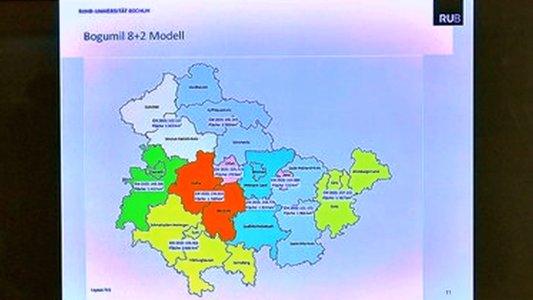 Vorstellung der Pläne für die Gebietsreform in Thüringen. - Symbolbild © MediaPool Jena