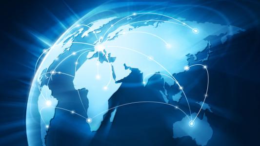 Wordwide Connexion - Globalisierung - Internet - FotoliaLicense#89345883