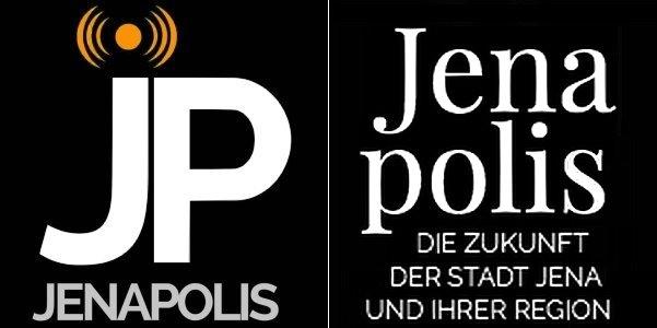 Zwei kokurrierende Jenapolis Logos