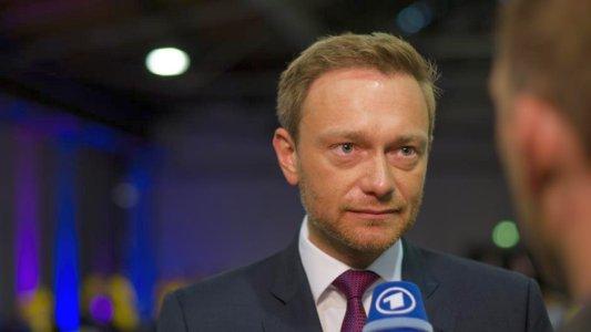 Christian Lindner in einem ARD-Interview - Bildrechte Das Erste ARD