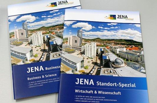 Das Cover der Neuauflage des JENA Standort-Spezial Wirtschaft & Wissenschaft - Foto © JenaWirtschaft