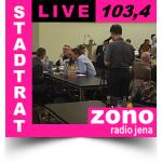 Die heutige Stadtratssitzung gibt es morgen bei Radio Jena auf UKW 103,40 MHz, im Infokanal und im Podcast zu hören