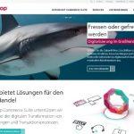 Webseite der Intershop AG © MediaPool Jena