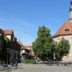 Altstädter Kirchenplatz in Erlangen. - Foto © Stadt Erlangen smü