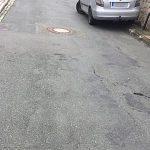 Zustand einer äteren Straße in Thüringen - Symbolfoto © MediaPool Jena