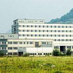 Das Fachkrankenhaus für Innere Medizin während der Bauphase im Juni 1980. - Foto © FSU Fotozentrum