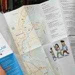 Ab sofort liegt der Stadtplan für Geflüchtete in Jena z.B. bei der Bürgerstiftung oder im WeltRaum aus. - Foto © Bürgerstiftung Jena