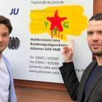 Kreisgeschäftsstelle der CDU Jena war erneut das Ziel eines politischen Angriffs