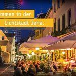 Die Wagnergasse in Jena - Willkommen in der Lichtstadt. - Foto © JenaKultur