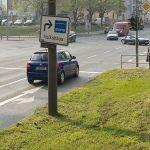Die Angerkreuzung aus Blickrichtung Wiesenstraße - Foto © Stadt Jena