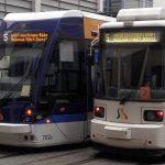 Zwei JeNah-Straßenbahnen – Foto © MediaPool Jena