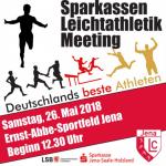 """""""Über 300 Athleten haben zugesagt"""": Übermorgen steigt in Jena das 22. Sparkassen-Meeting der Leichtathletik"""