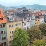 Aufnahme der Webcam von Sebatian Reuter am Historischen Marktplatz in Jena. - Bildquelle live.sebastian-reuter.de
