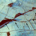 Luftbildaufnahme des Karlsgrabens im Winter.. - Bildrechte Bayerisches Landesamt für Denkmalpflege O. Braasch