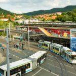 Die Mobilität in Jena hat viele Möglichkeiten. - Foto © JenaKultur Andreas Hub