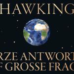 """Cover des Hörbuchs """"Kurze Antworten auf große Fragen"""" von Stephen Hawking - Abbildung © Verlag Klett-Cotta"""