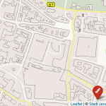 Kartenübersicht zum Mängelmelder der Stadt Jena – Symbolgrafik © Stadt Jena Kartenwerk