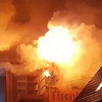 Wohnhausbrand im Oberbachweg in Kahla - Foto 1 © Polizeiinspektion Jena