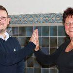 Philip Riegel und Dr. Ute Bergner - Bildrechte: FDP Jena-Saale-Holzland