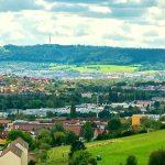Blick vom Heiligenberg auf Jena-Nord. - Foto © BeckArt under FotoliaLicence