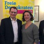 Die neue Führungsriege der Liberalen. - Foto © FDP Jena-SaaleHolzland