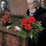 Gudrun Luin gedenkt Rosa Luxemburg und Karl Liebknecht - Bildrechte: DIE LINKE.