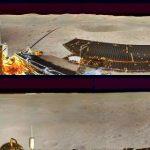 """Neues von der Rückseite des Mondes (2): China-Rover """"Yùtù 2"""" schickt ein Panoramafoto und es gibt Videos zu bestaunen"""