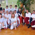 Seit zehn Jahren für schwerstkranke und sterbende Menschen im Einsatz: das Team der Palliativabteilung am UKJ. - Foto © UKJ
