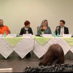 """Podiumsdiskussion der Partei DIE LINKE in Erfurt zum Thema """"Pflege besser machen: Pflegenotstand stoppen"""". - Foto © MediaPool Jena"""