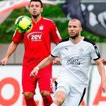 Spielszene FSV Zwickau gegen den FC Carl Zeiss Jena. - Symbolfoto © FCC