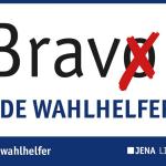 Heute vor 29 Jahren gab es die lang ersehnte freie Wahl – Auch für 2019 sucht die Stadt Jena Wahlhelfer!
