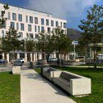 Blick auf das Hauptgebäude des neune Uniklinikums Jena. - Foto © MediaPool Jena