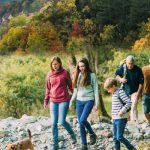 Heute ist  Familienwandertag und Staffellauf auf der SaaleHorizontale