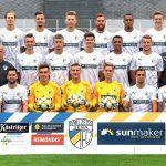 Die erste Mannschaft des FC Carl Zeiss Jena in der Saison 2019 2020 - Bildrechte: FCC