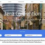 """""""JenaConvention"""" ist online: Das dritte große Online-Projekt von JenaKultur richtet sich vorrangig an die Planer von Tagungen, Kongressen und sonstigen Veranstaltungen"""