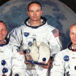 """Neil Armstrong, Michael Collins und Eward """"Buzz"""" Aldrin - Bildrechte: NASA"""