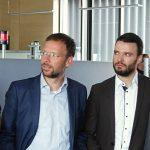 Thüringens MP Ramelow besuchte das Gefahrenabwehrzentrum Jena - Bildrechte: Feuerwehr Jena