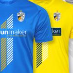 FC Carl Zeiss: Neue Trikots mit Vereins-Emblem in cooler 3D-Optik sind vorgestellt worden
