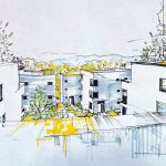 """Vorhabenbezogener Bebauungsplan VBB-J 44 """"Wohnen am Hufelandweg"""": Hier findet man weitere Unterlagen zur Ansicht"""