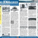 Neue Stadtteilzeitschrift: Der NORD JENA KURIER Ausgabe November / Dezember 2019 ist erschienen