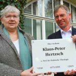 Ehrung durch die FSU Jena: Klaus-Peter Hertzsch war eine prägende Persönlichkeit der Friedlichen Revolution
